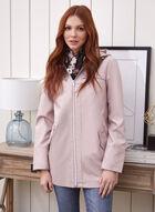 Removable Hood Raincoat, Pink