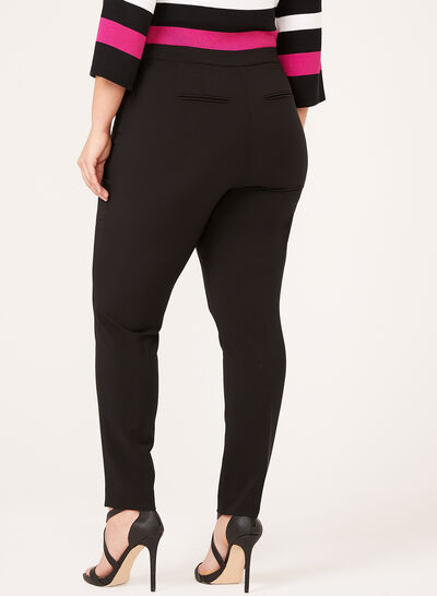 Pantalon coupe moderne à jambe étroite