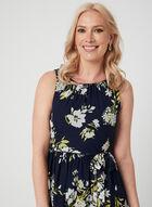 Jessica Howard - Robe longue en mousseline, Bleu, hi-res