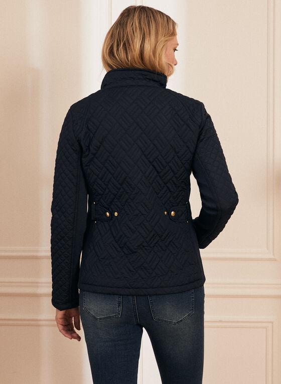 Weatherproof - Diamond Quilt Coat, Blue