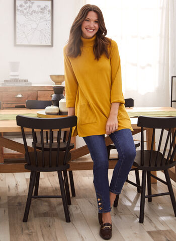 Button Detail Slim Leg Jeans, Blue,  jeans, denim, slim leg, high rise, pockets, button detail, spring summer 2021
