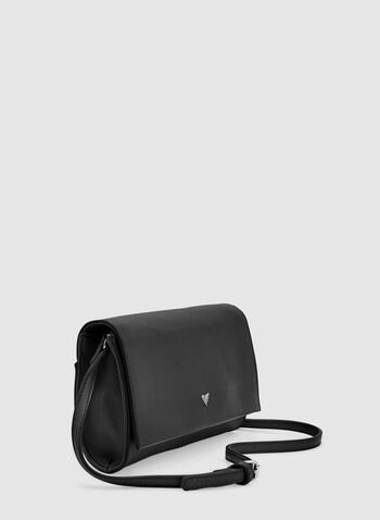 Flap Over Clutch, Black, hi-res