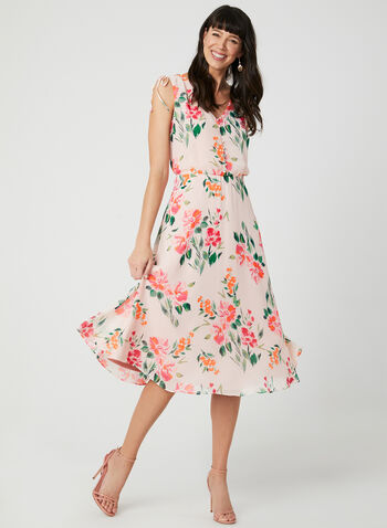cc98c3ed084 Jessica Howard – Floral Print Day Dress