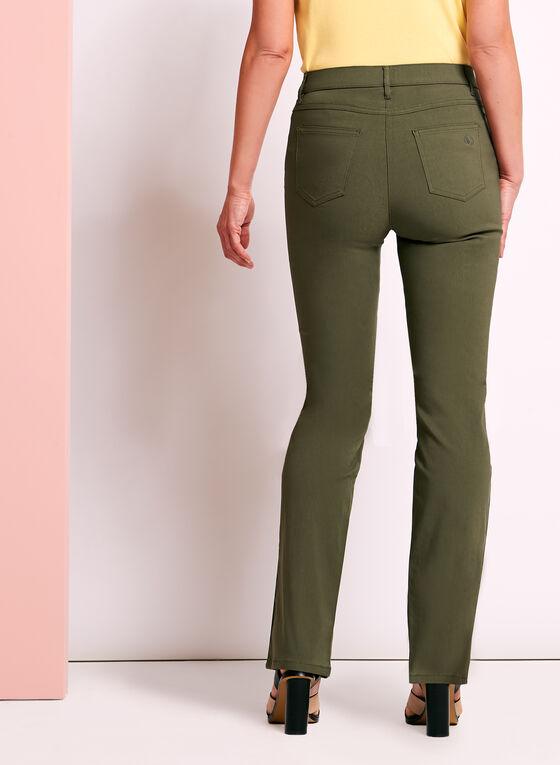 Simon Chang - Straight Leg Pants, Green, hi-res