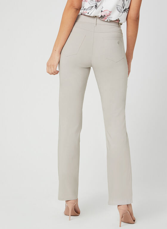 Simon Chang - Straight Leg Pants, Grey, hi-res