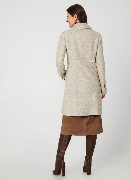 Novelti - Manteau en laine bouclée, Brun