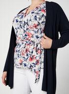Blouse fleurie style cache-cœur, Multi, hi-res
