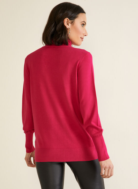 Essential Turtleneck Sweater, Pink