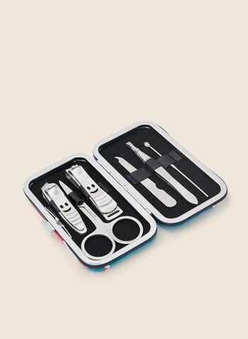 Holiday Print Manicure Kit, Multi,  Fall winter 2020, kit, set, manicure, nails