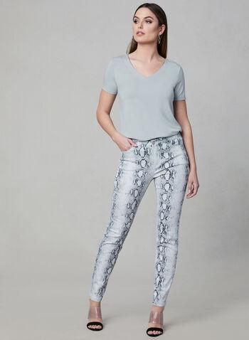 Printed Pants, , hi-res