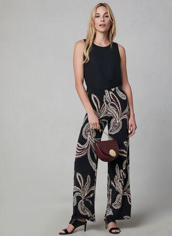 Sleeveless Blouse, Black,  blouse, sleeveless, fall 2019, winter 2019