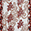 Crystal Embellished Floral Print Scarf, Red, swatch