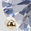 Crystal Stud Earrings, Gold, swatch