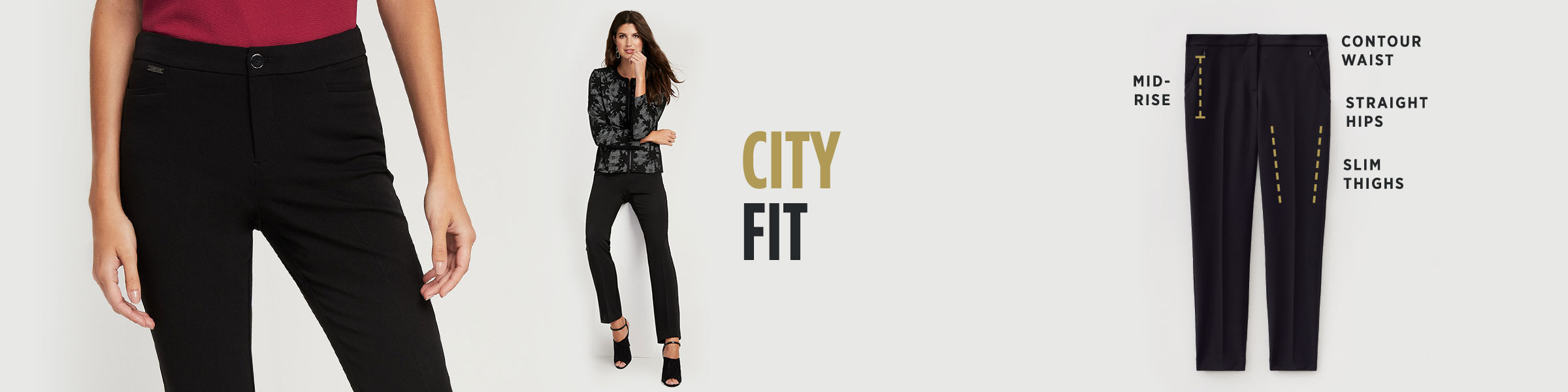 Laura - Clothing - Pants - City Fit