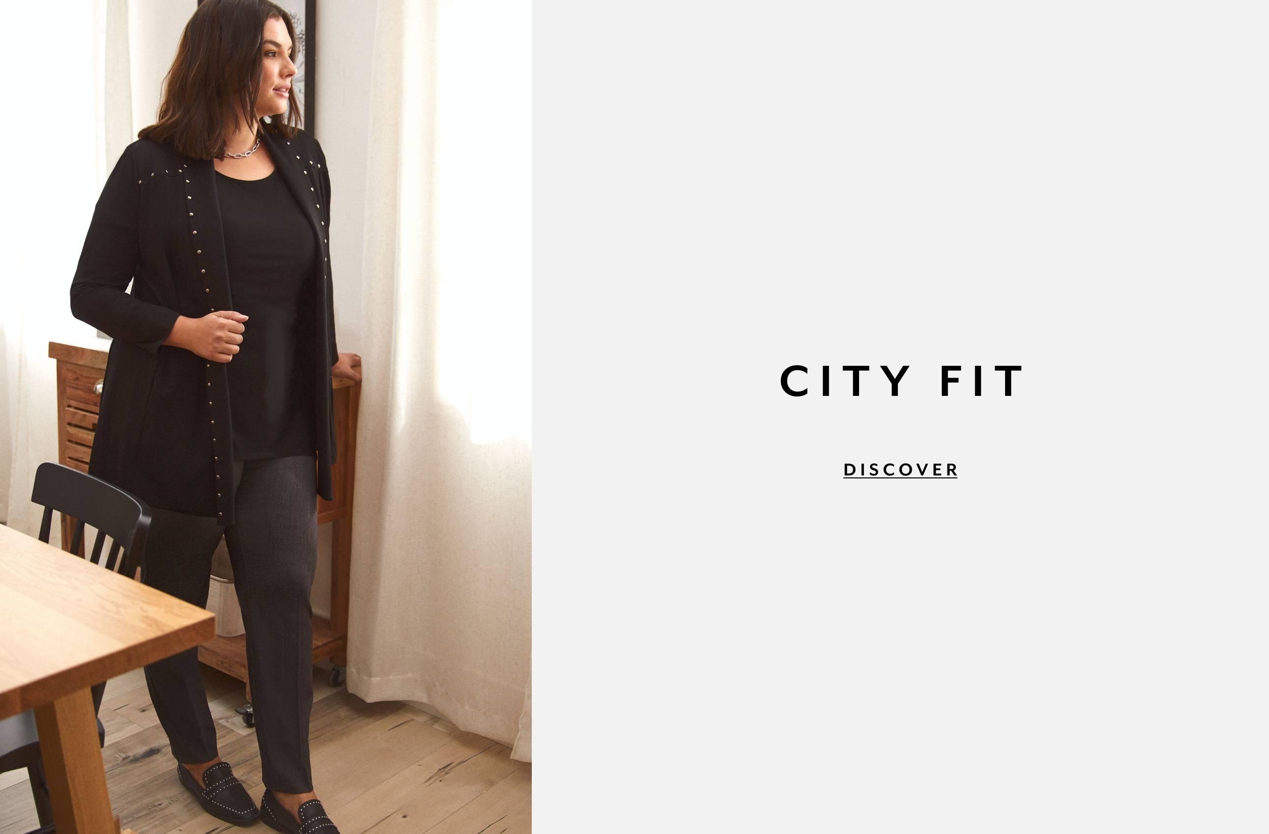 Plus Clothing Pants City Fit