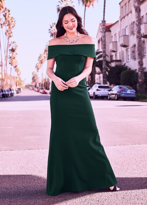 Laura - Prom Dresses 2019 - Off-the-Shoulder Gown