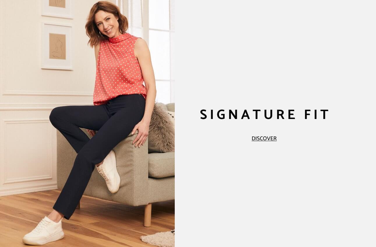 Laura Petites Clothing Pants Signature Fit