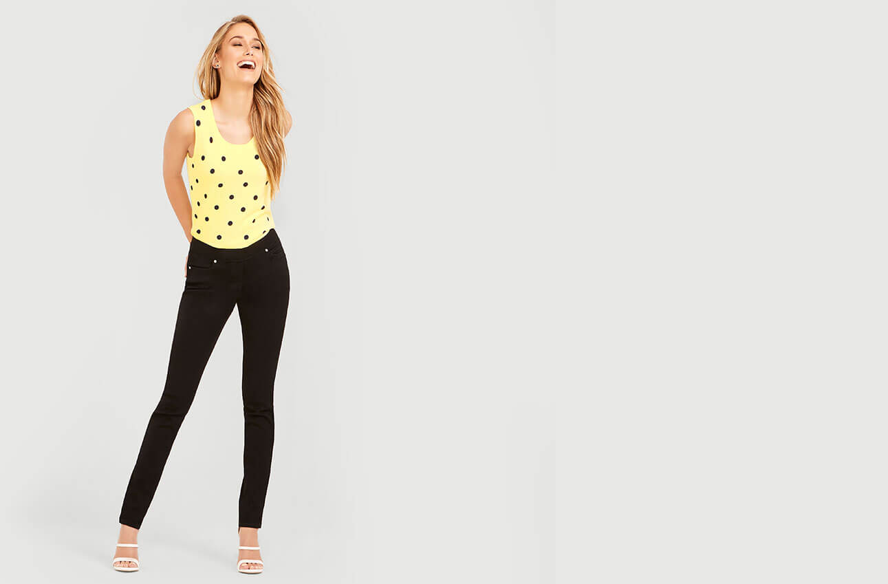 Shop Laura Petites Jeans Pull-On