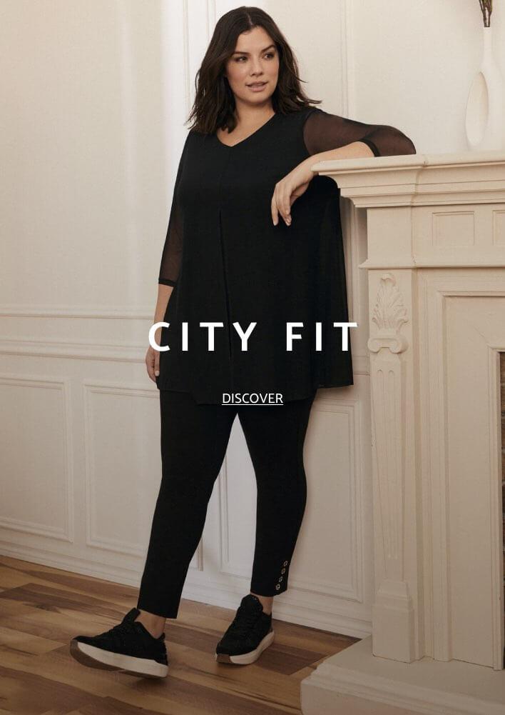Shop Laura Plus Pants City Fit