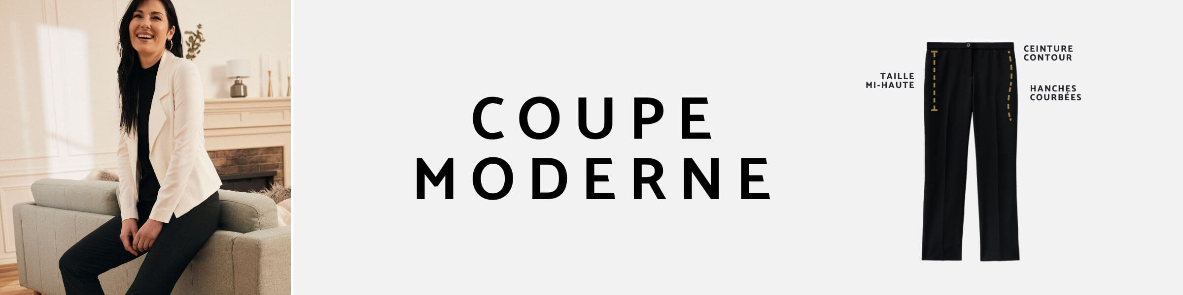 Laura - Petites - Coupe moderne