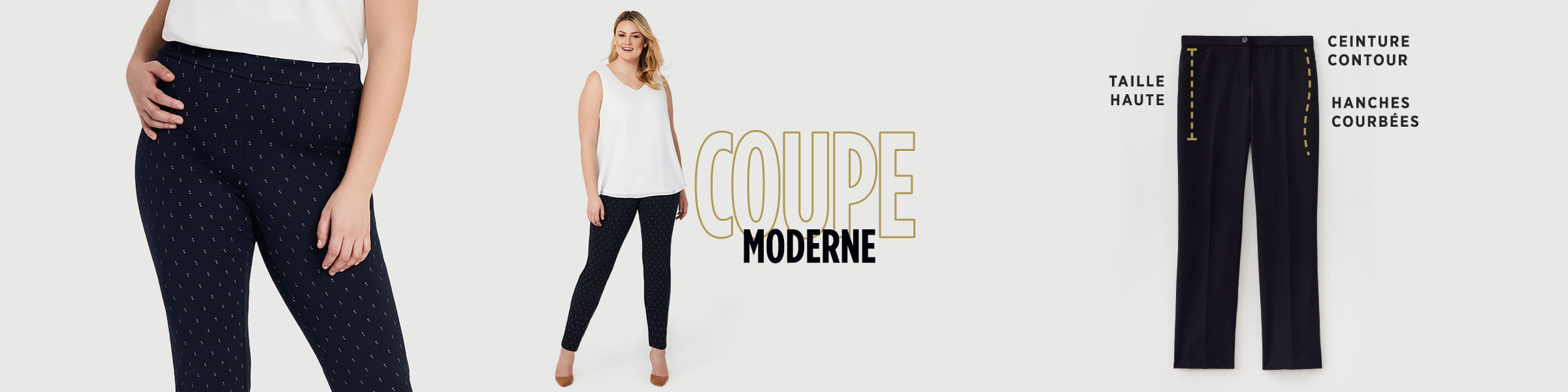 Laura Plus - Coupe moderne