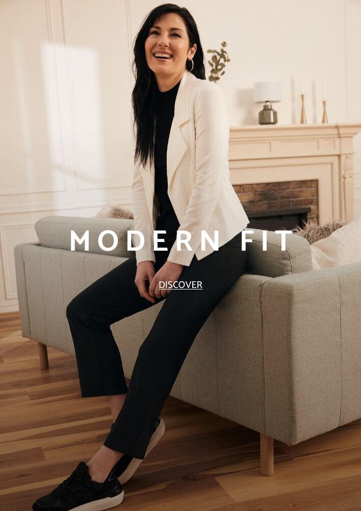 Shop Laura Petites Pants Modern Fit