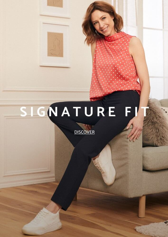 Shop Laura Petites Pants Signature Fit