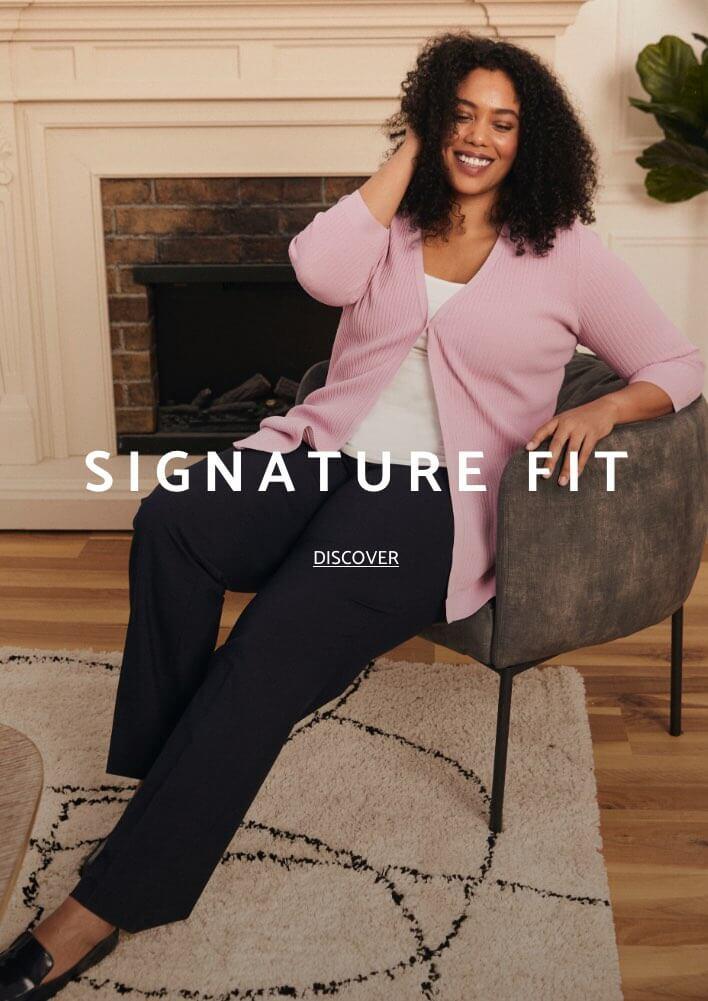 Shop Laura Plus Pants Signature Fit