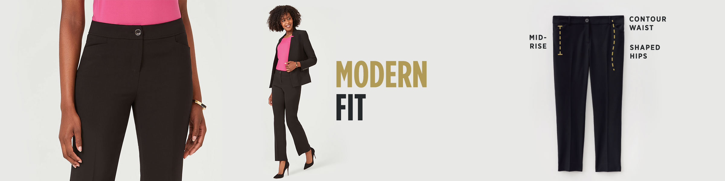 Laura - Clothing - Pants - Modern Fit