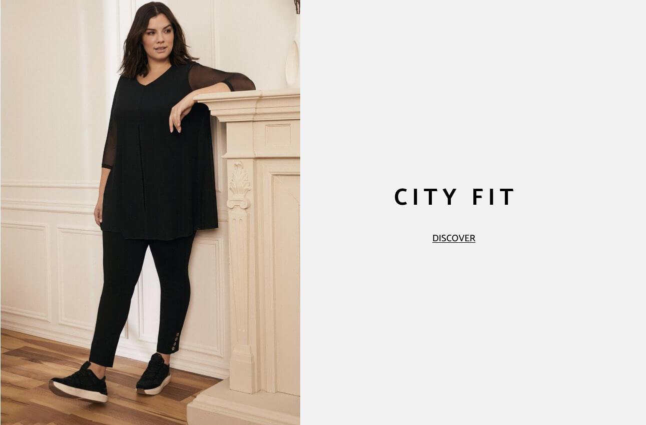 Laura Plus Clothing Pants City Fit