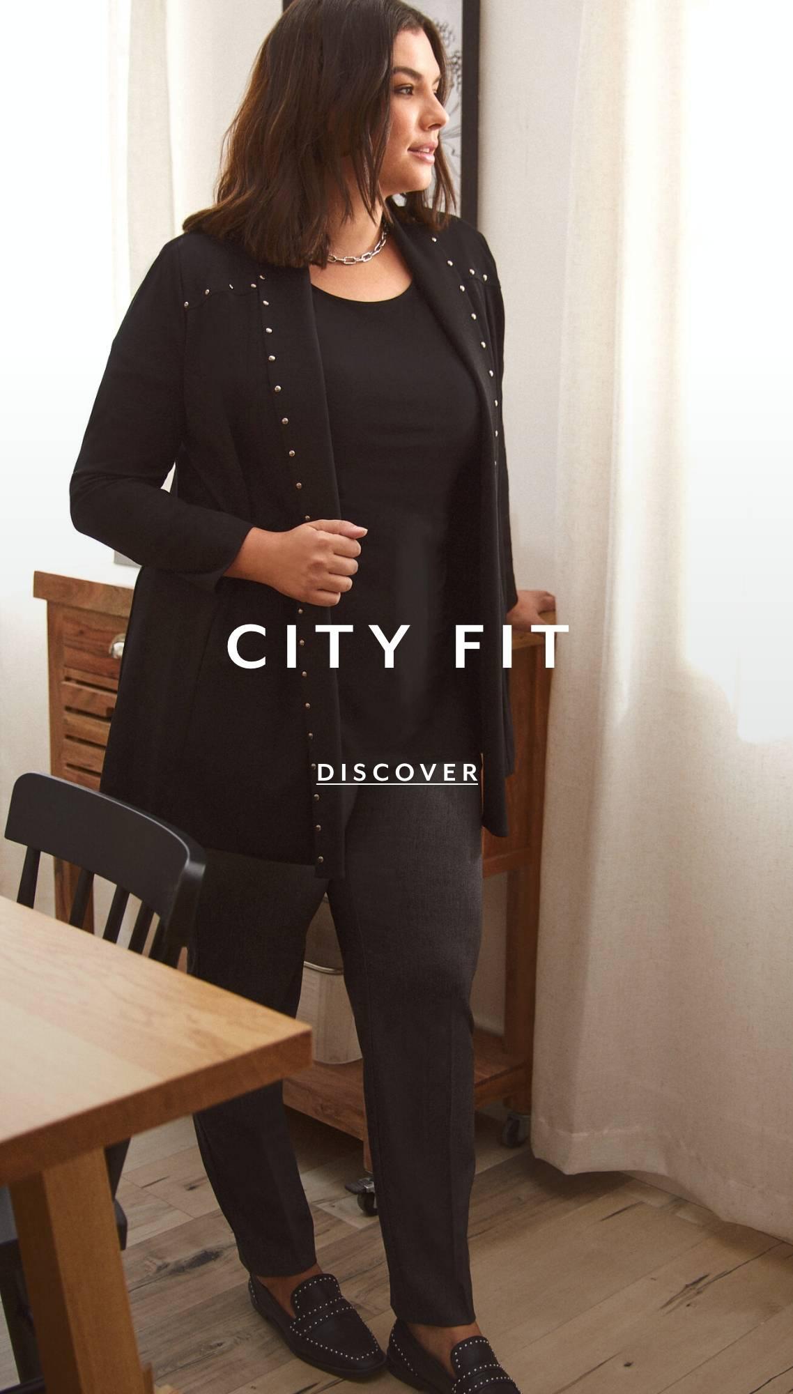 Shop Plus Pants City Fit