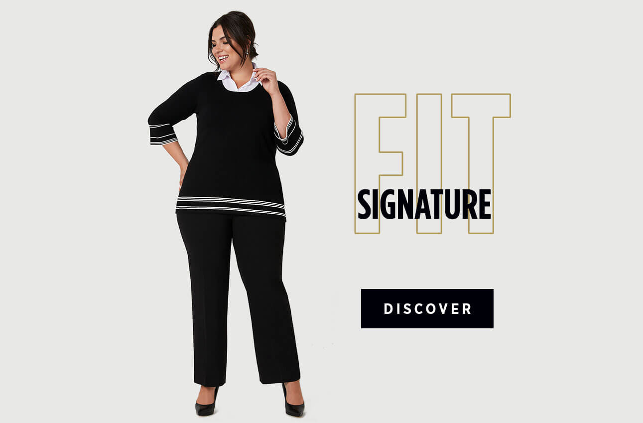 Laura Plus Clothing Pants Signature Fit