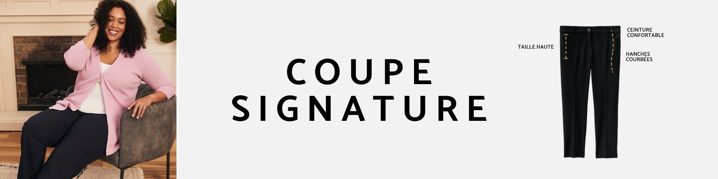 Laura - Plus - Coupe signature