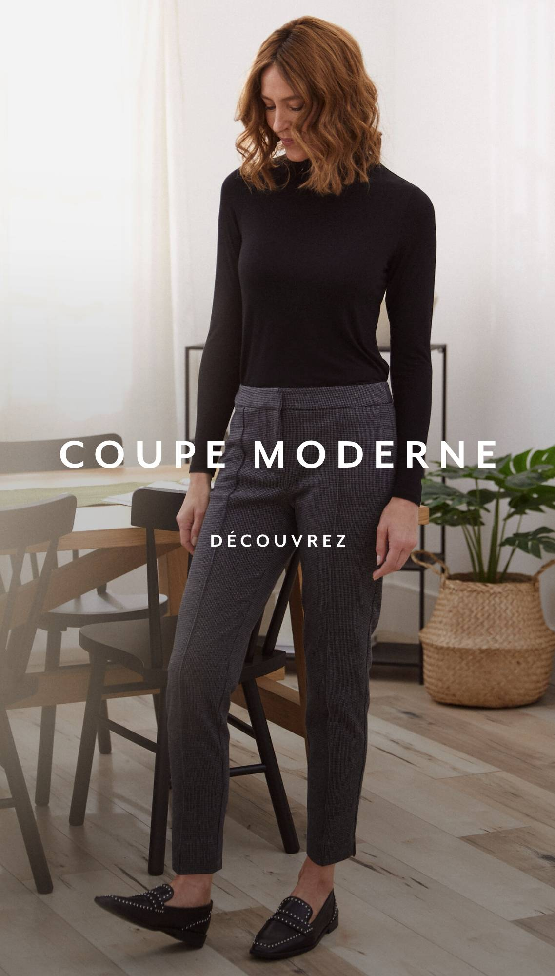 Shop Petites Pants Modern Fit