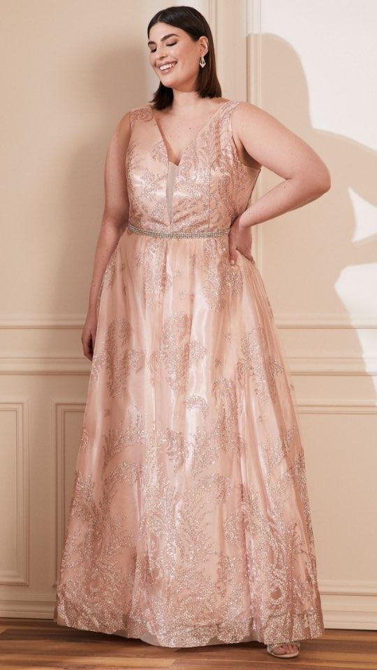 Cachet - Glitter Ball Gown