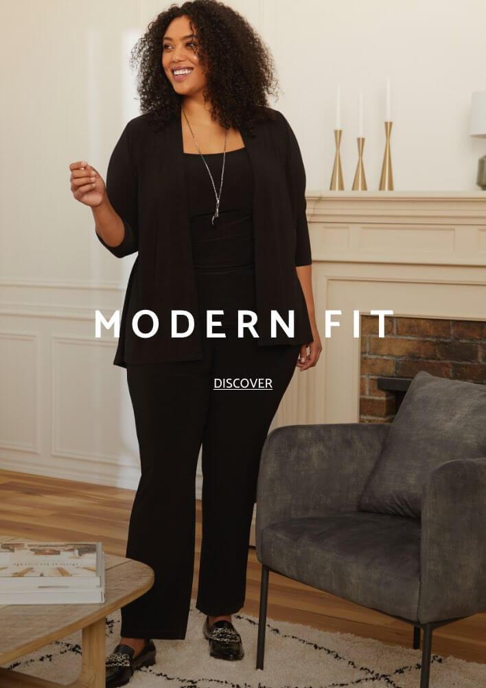Shop Laura Plus Pants Modern Fit