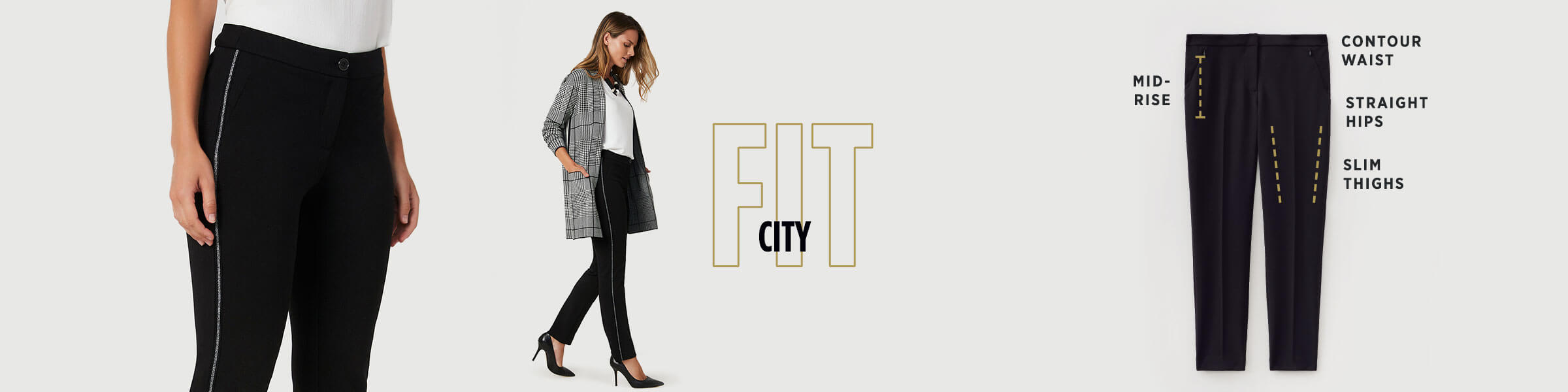 Laura - Pants - City Fit