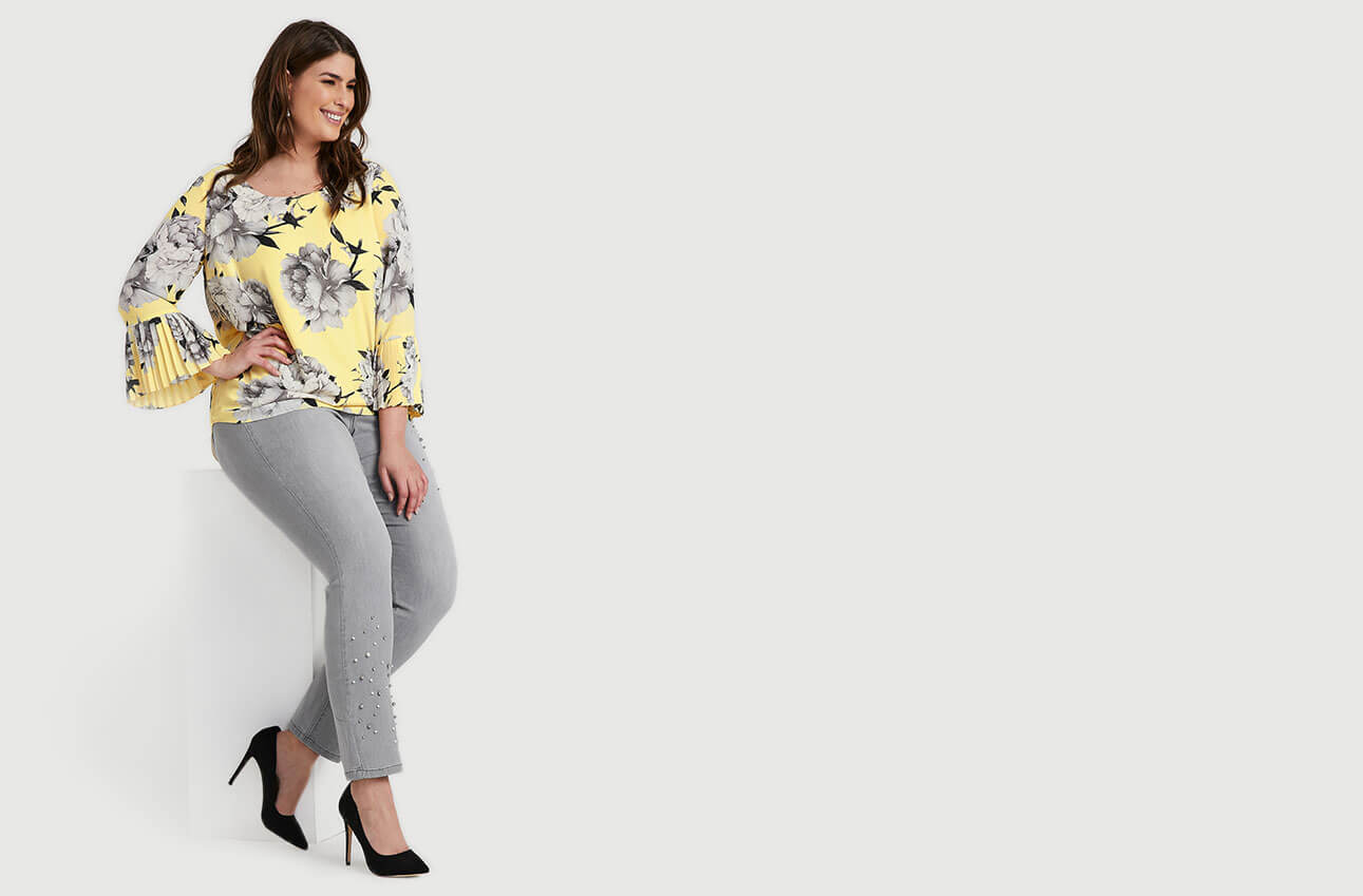 Shop Laura Plus Jeans Signature Fit