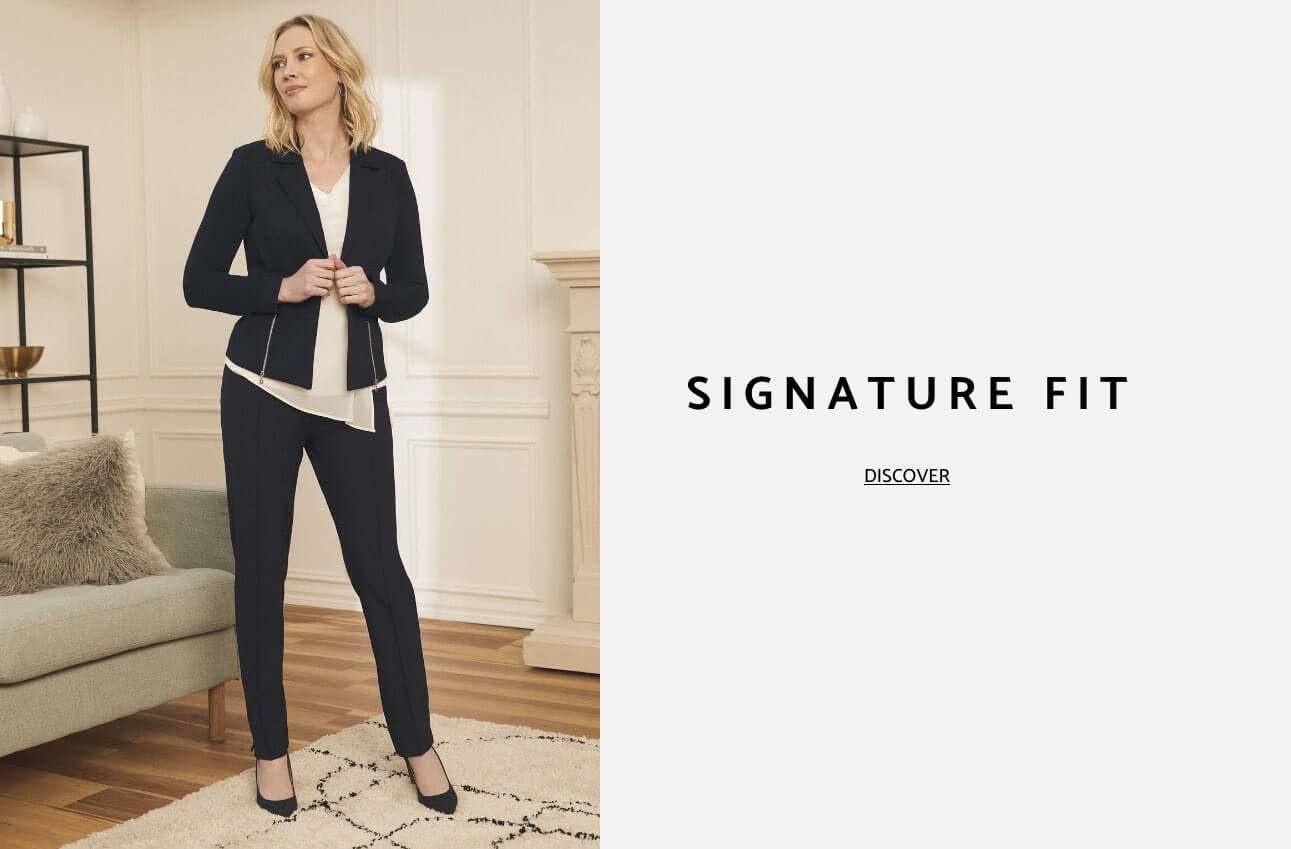 Laura Clothing Pants Signature Fit