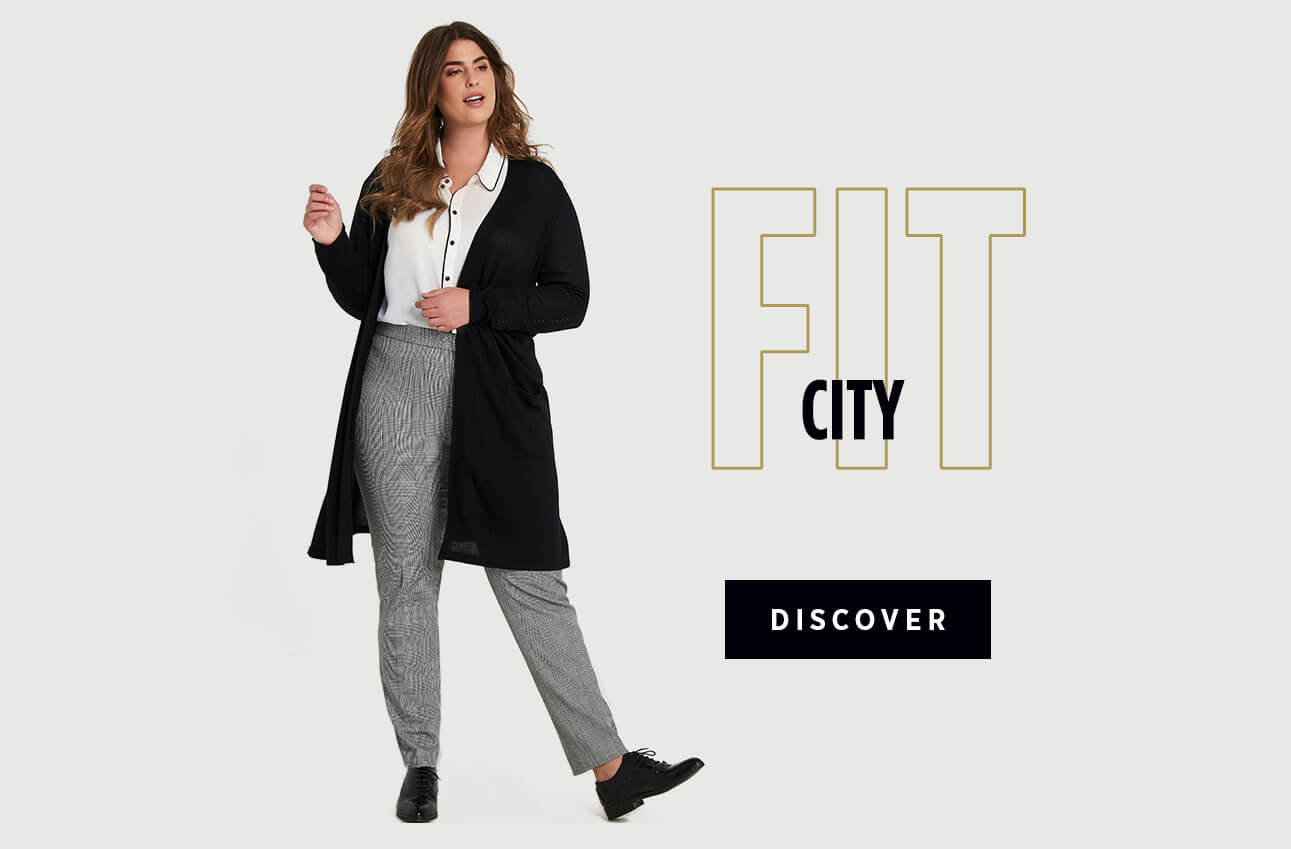 Laura Plus Clothing Pants City Fit