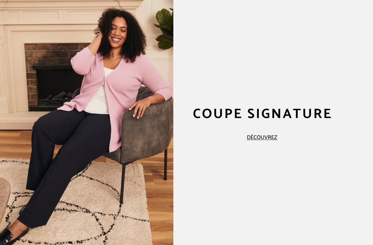 Laura Plus - Vêtements - Pantalons - Coupe Signature