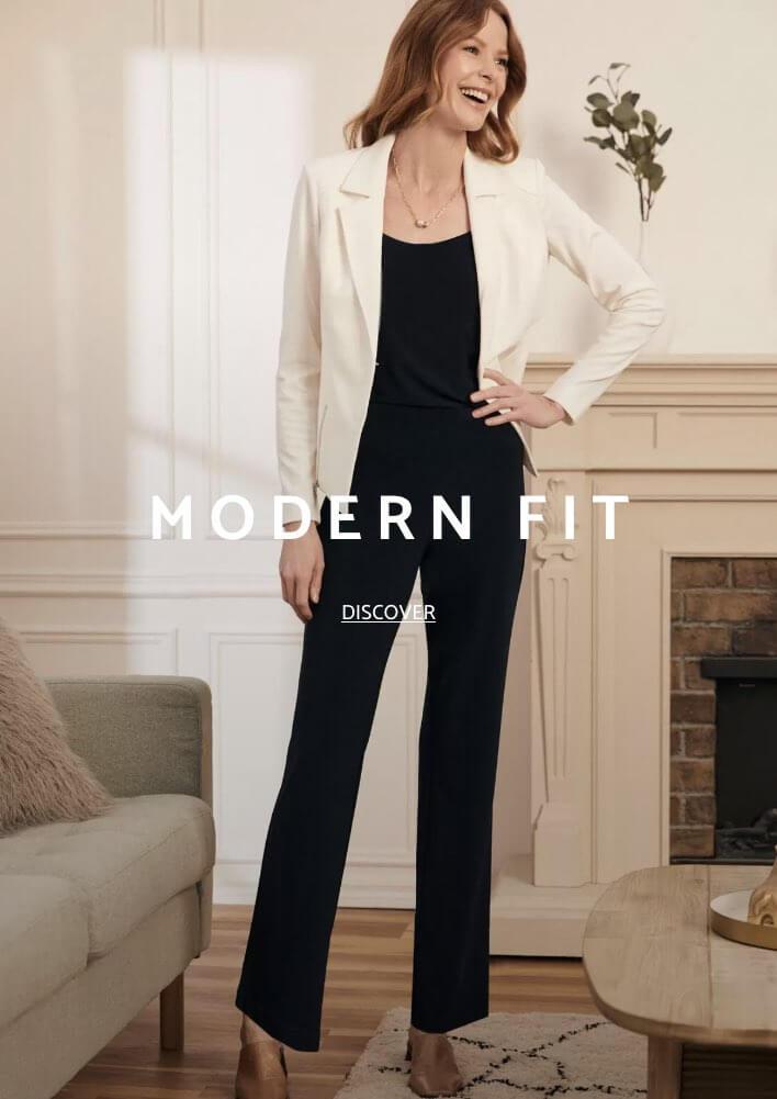Shop Laura Pants Modern Fit
