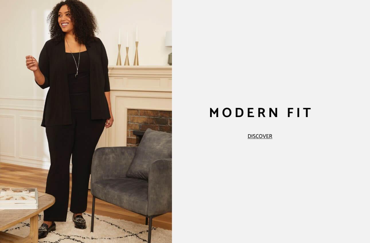 Laura Plus Clothing Pants Modern Fit