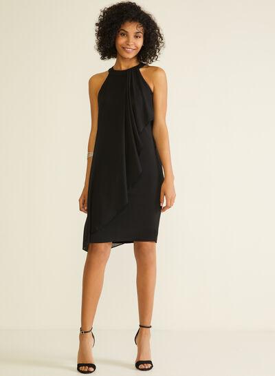 Cleo Neck Chiffon Dress