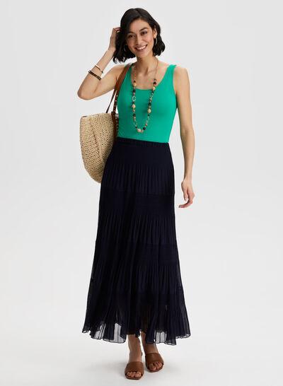 Laura - Pull-On Maxi Skirt