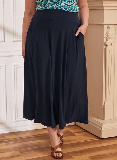 Plus - Pull-On Maxi Skirt