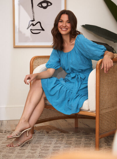 Laura - Maison Tara - Balloon Sleeve Dress